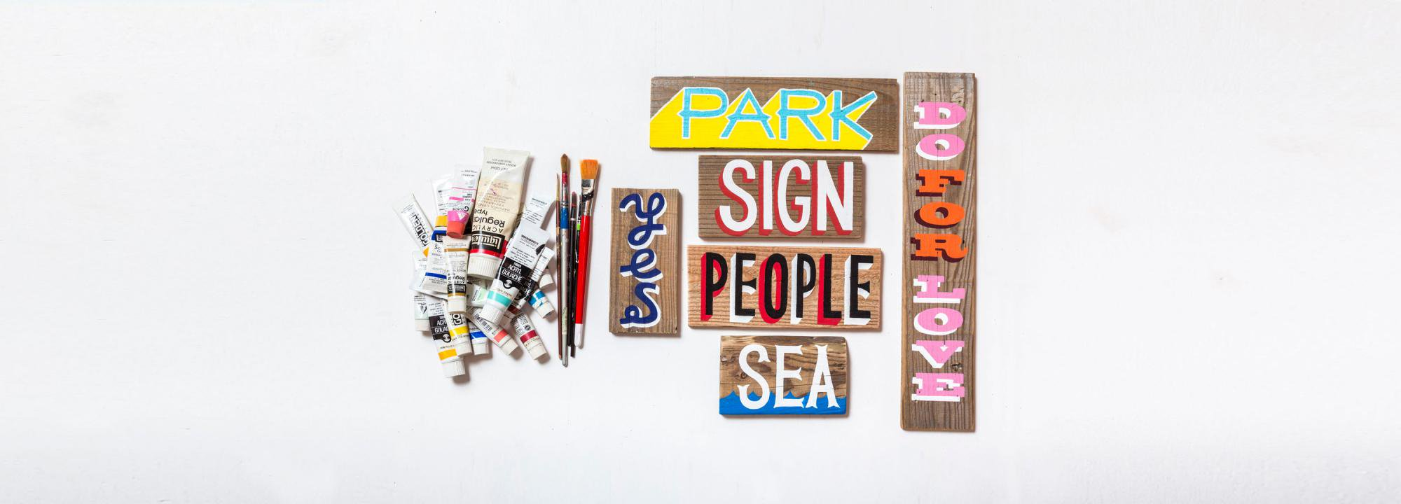Sign Painting - PARK