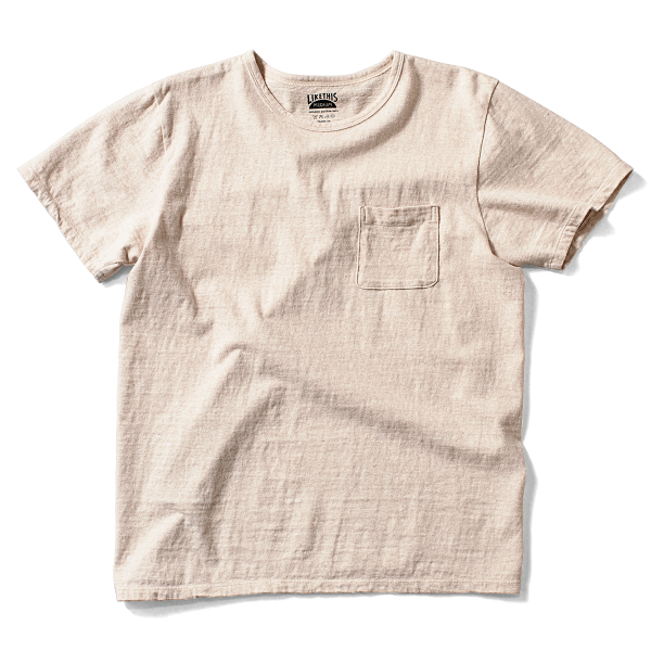 OG Cotton Basic Pocket - Natural