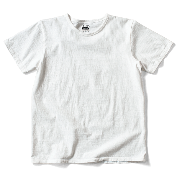 Organic Cotton Loop Wheel Tee - White