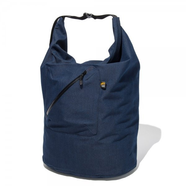 ROLL SHOULDER INDIGO,KHAKI