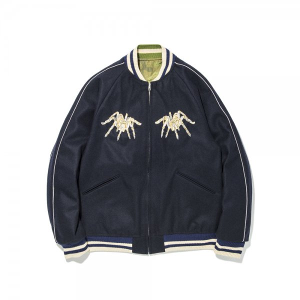 GOLDISH SPIDER WEB SOUVENIR JACKET