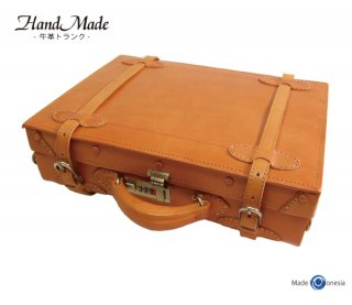 角型トランク Mサイズ ハンドメイド A4対応