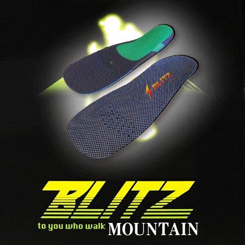 インソールBLITZ マウンテン BLITZ-T(ブリッツ マウンテンモデル)