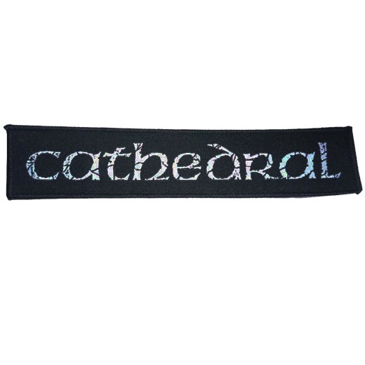 Cathedral / カテドラル - Logo. パッチ【お取寄せ】
