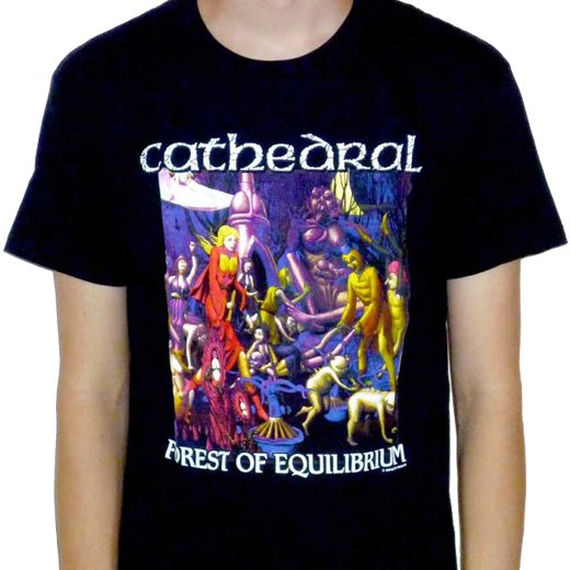 Cathedral / カテドラル - Forest Of Equilibrium. Tシャツ【お取寄せ】