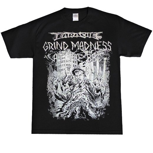 Earache Records / イヤーエイク・レコード - Grind Madness. Tシャツ【お取寄せ】