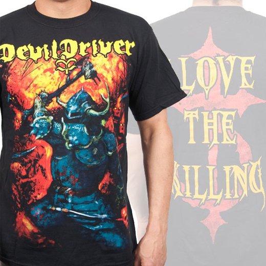 Devildriver / デヴィルドライヴァー - Warrior. Tシャツ【お取寄せ】
