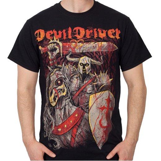 Devildriver / デヴィルドライヴァー - Knight. Tシャツ【お取寄せ】