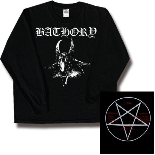 Bathory / バソリー - Goat. ロングスリーブTシャツ【お取寄せ】