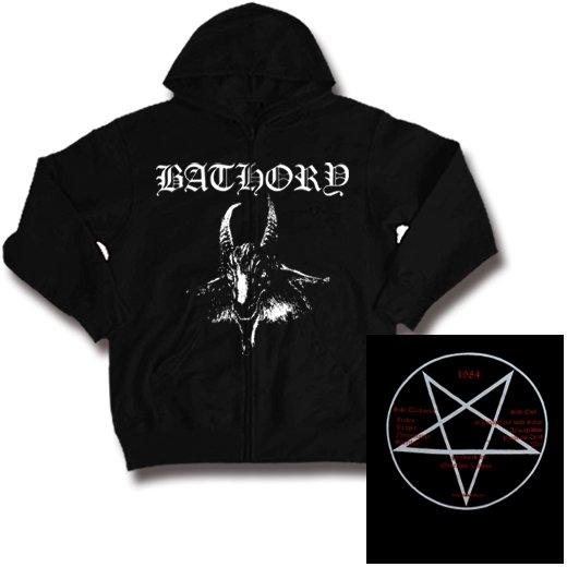 Bathory / バソリー - Goat. ジップアップパーカー【お取寄せ】