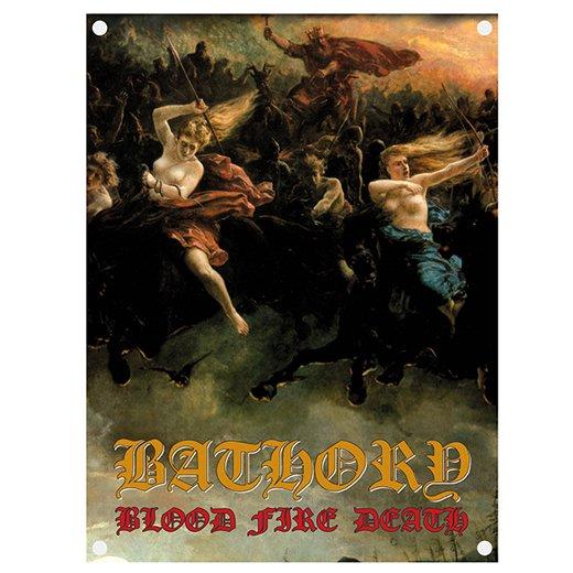 Bathory / バソリー - Blood Fire Death. フラッグ【お取寄せ】