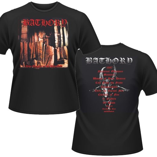Bathory / バソリー - Under The Sign. Tシャツ【お取寄せ】