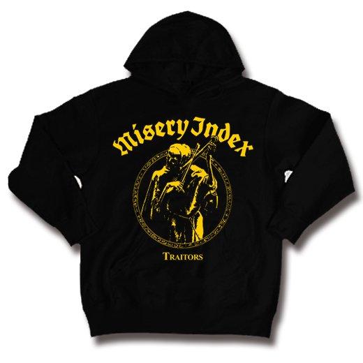 Misery Index / ミザリー・インデックス - Traitors. パーカー【お取寄せ】