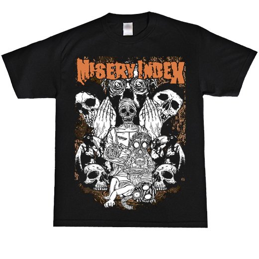 Misery Index / ミザリー・インデックス - Gasmask. Tシャツ【お取寄せ】