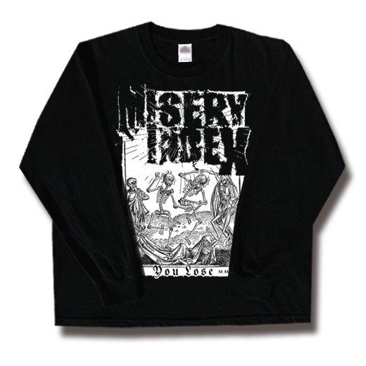 Misery Index / ミザリー・インデックス - You Lose. ロングスリーブTシャツ【お取寄せ】