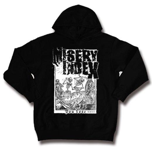Misery Index / ミザリー・インデックス - You Lose. パーカー【お取寄せ】