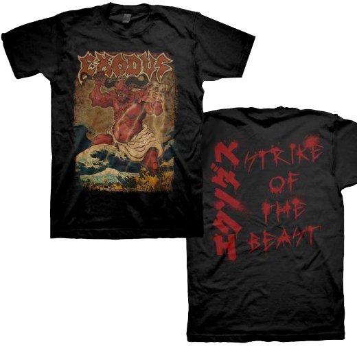 Exodus / エクソダス - Oni Strike Of The Beast. Tシャツ【お取寄せ】
