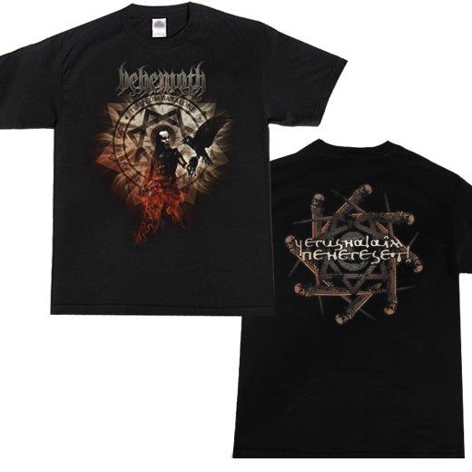 Behemoth / ベヒーモス - Firecrow. Tシャツ【お取寄せ】