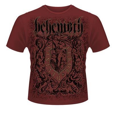 Behemoth / ベヒーモス - Furor Divinus Maroon. Tシャツ【お取寄せ】