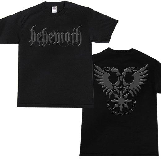 Behemoth / ベヒーモス - Logo. Tシャツ【お取寄せ】