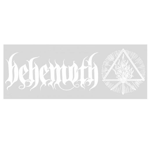 Behemoth / ベヒーモス - Sigil Logo. ウィンドウデカール【お取寄せ】