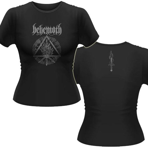 Behemoth / ベヒーモス - Furor Divinus. レディースTシャツ【お取寄せ】