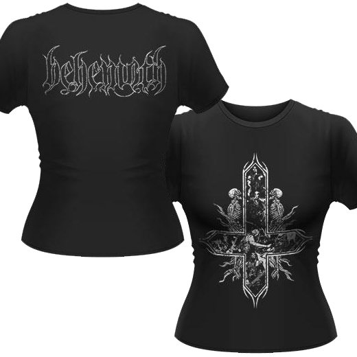 Behemoth / ベヒーモス - Inverted Cross. レディースTシャツ【お取寄せ】