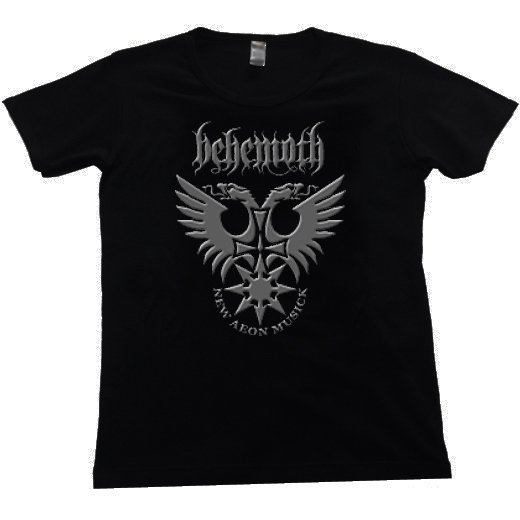 Behemoth / ベヒーモス - Logo. レディースTシャツ【お取寄せ】