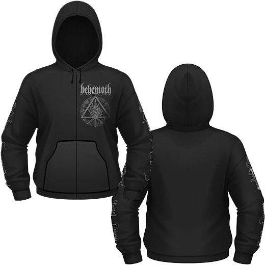 Behemoth / ベヒーモス - Furor Divinus. ジップアップパーカー【お取寄せ】