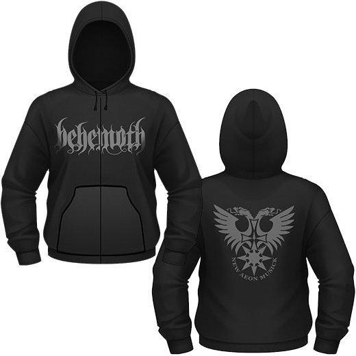 Behemoth / ベヒーモス - Logo. ジップアップパーカー【お取寄せ】