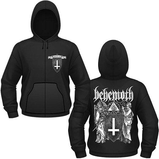 Behemoth / ベヒーモス - Satanist. ジップアップパーカー【お取寄せ】