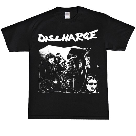 Discharge / ディスチャージ - Band Playing. Tシャツ【お取寄せ】