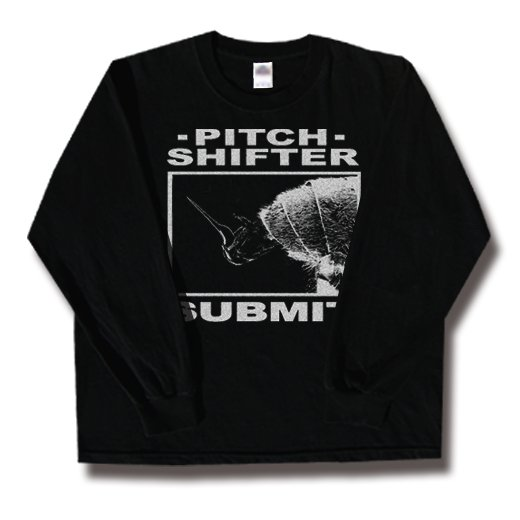 Pitch Shifter / ピッチ・シフター - Submit. ロングスリーブTシャツ【お取寄せ】