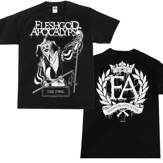 Fleshgod Apocalypse / フレッシュゴッド・アポカリプス - The Fool. Tシャツ【お取寄せ】