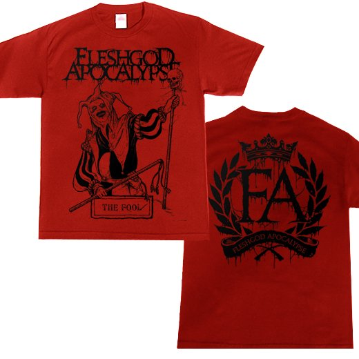 Fleshgod Apocalypse / フレッシュゴッド・アポカリプス - The Fool Red. Tシャツ【お取寄せ】