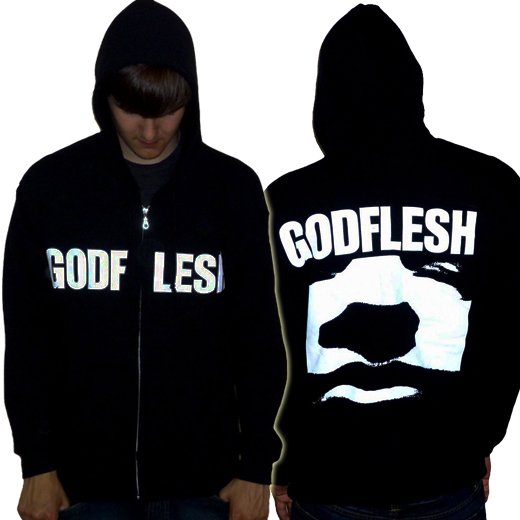 Godflesh / ゴッドフレッシュ - Godflesh. ジップアップパーカー【お取寄せ】