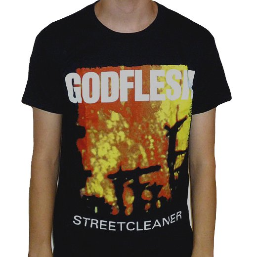 Godflesh / ゴッドフレッシュ - Streetcleaner. Tシャツ【お取寄せ】