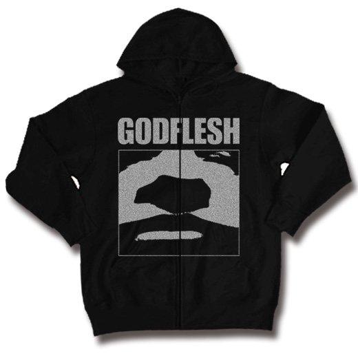 Godflesh / ゴッドフレッシュ - Face. ジップアップパーカー【お取寄せ】