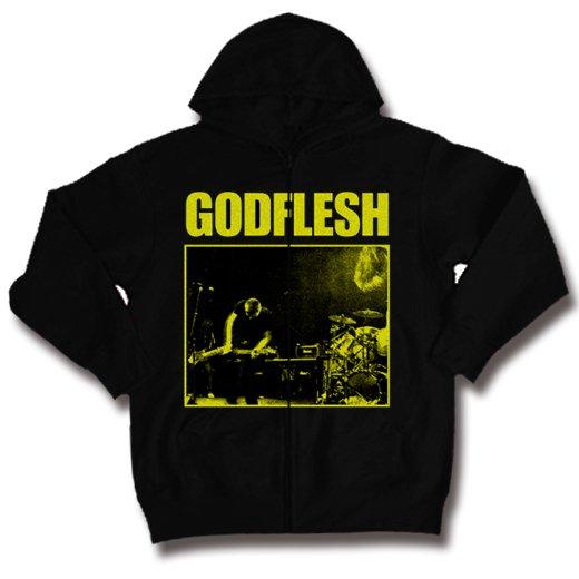 Godflesh / ゴッドフレッシュ - Slateman. ジップアップパーカー【お取寄せ】