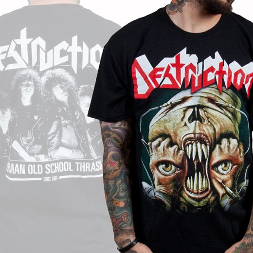 Destruction / デストラクション - Release From Agony. Tシャツ【お取寄せ】