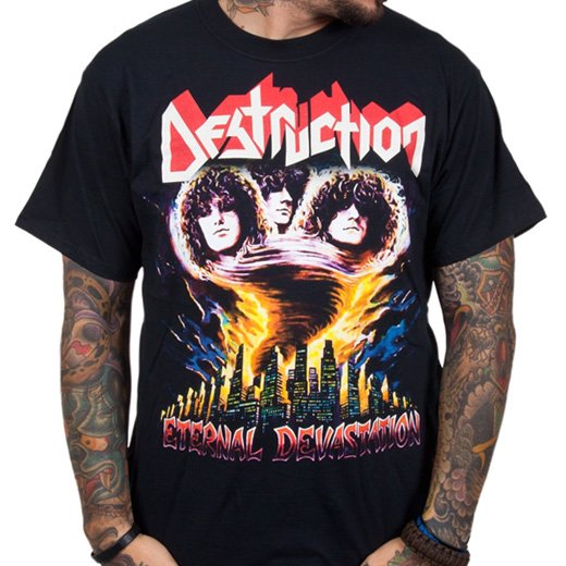 Destruction / デストラクション - Eternal Devastation. Tシャツ【お取寄せ】