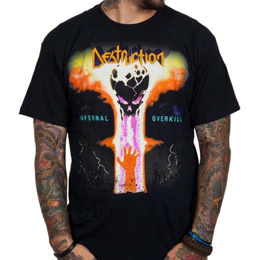 Destruction / デストラクション - Infernal Overkill. Tシャツ【お取寄せ】
