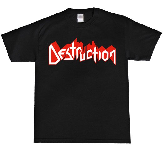 Destruction / デストラクション - Logo. Tシャツ【お取寄せ】