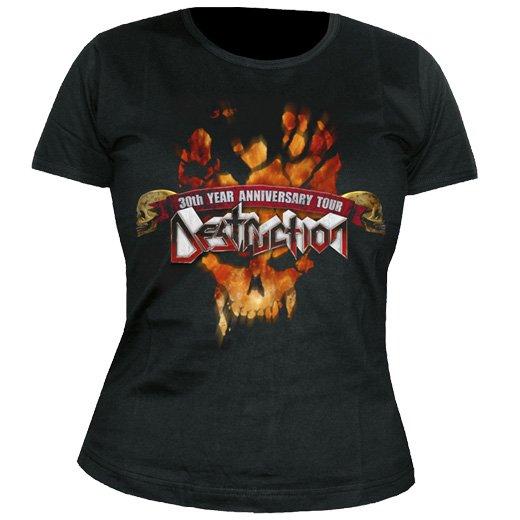 Destruction / デストラクション - 30 Years. レディースTシャツ【お取寄せ】