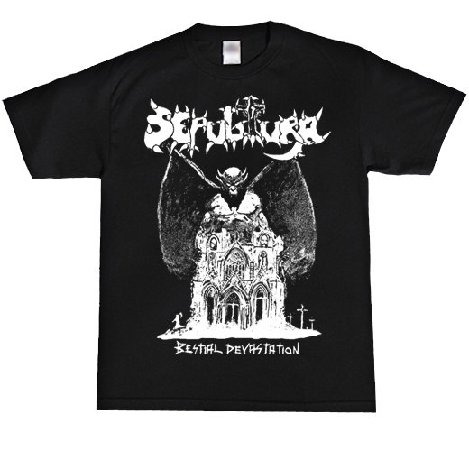 Sepultura / セパルトゥラ - Bestial Devastation. Tシャツ【お取寄せ】
