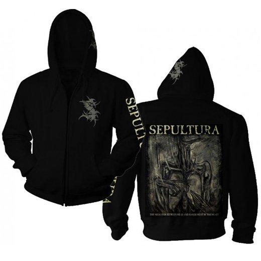Sepultura / セパルトゥラ - Mediator. ジップアップパーカー【お取寄せ】