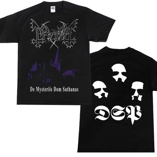 Mayhem / メイヘム - De Mysteriis Dom Sathanas. Tシャツ【お取寄せ】