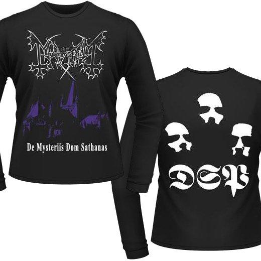 Mayhem / メイヘム - De Mysteriis Dom Sathanas. ロングスリーブTシャツ【お取寄せ】