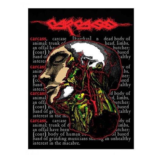 Carcass / カーカス - Cabeza. ステッカー【お取寄せ】