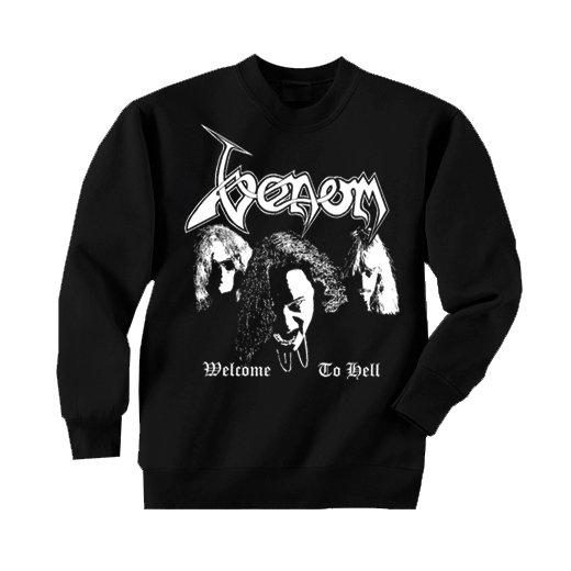 Venom / ヴェノム - Hell Faces. トレーナー【お取寄せ】